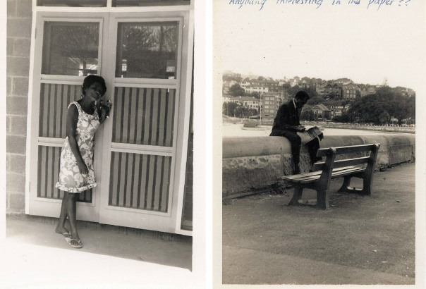 LEFT: Mum Helen, at 17 (1968). I could tell by her pose that Dad took this photo, before they were married (she confirmed this later). RIGHT: Dad Pearson, in 1966, during a work trip to Sydney. You can tell whom I inherited my build from.