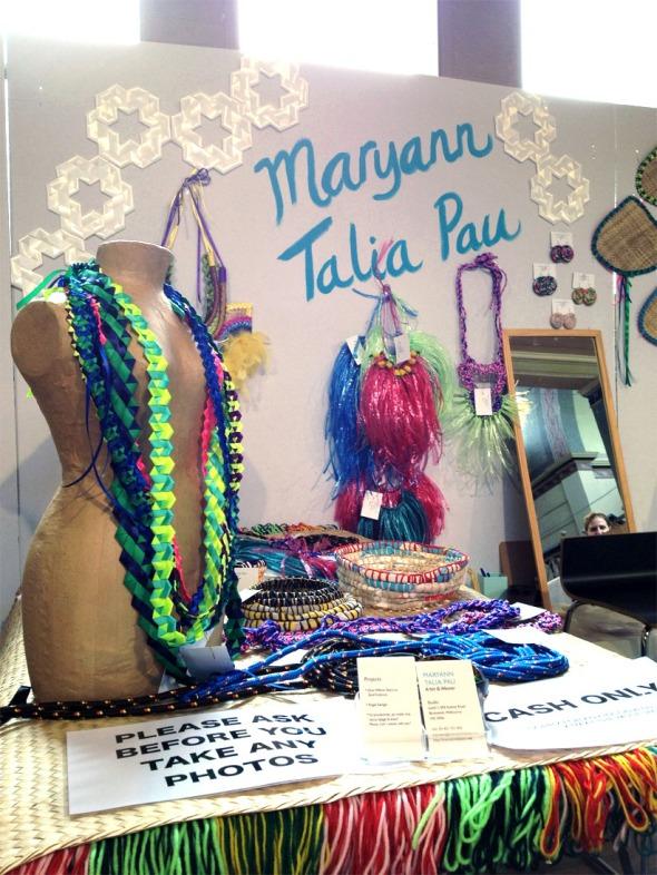 Maryann Talia Pau stall