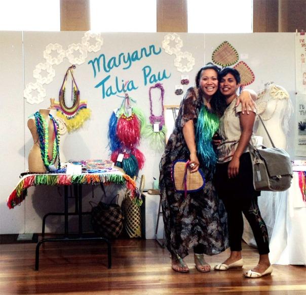 Maryann and Taloi!